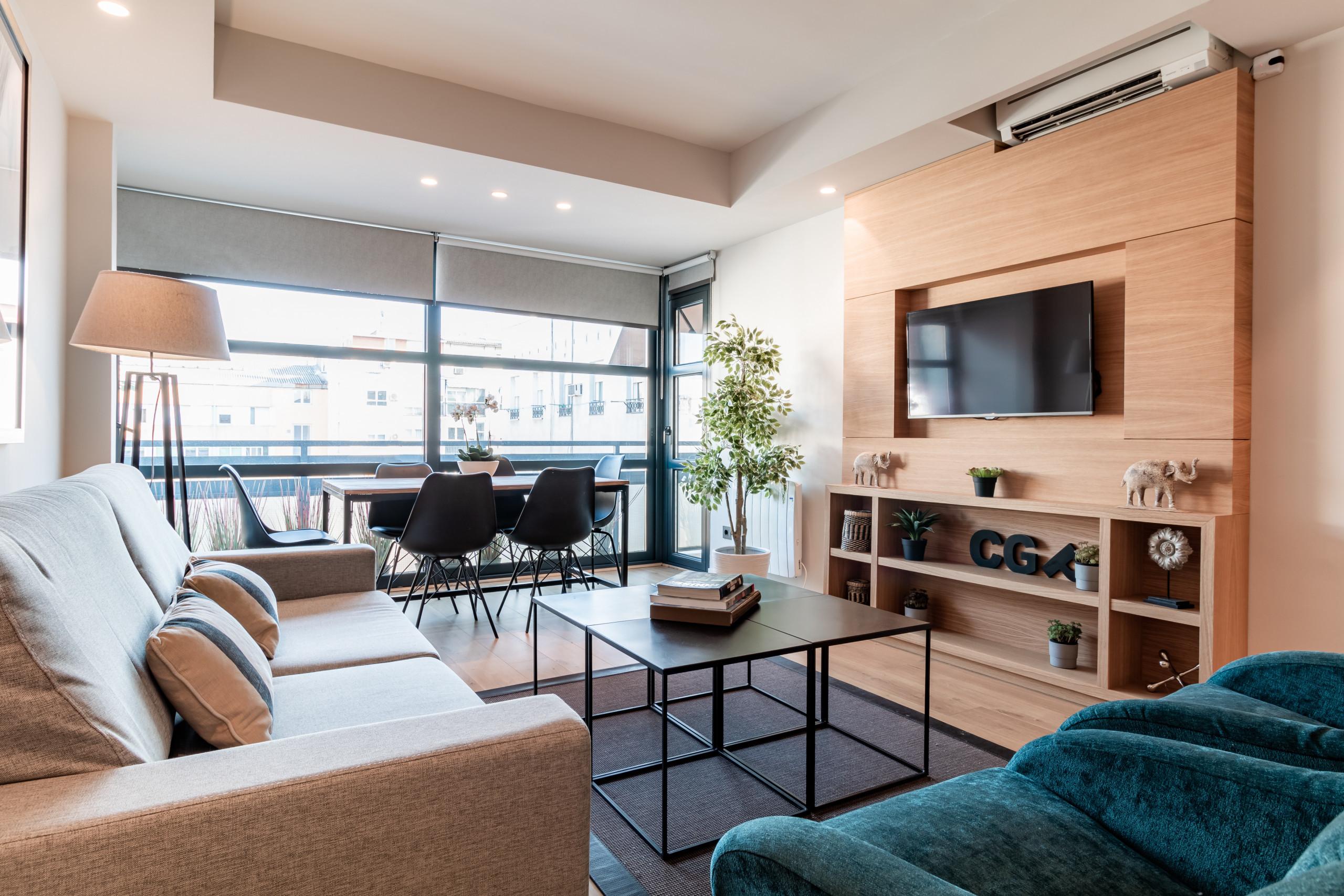 Apartamento en Madrid - Ático de diseño en el Barrio de Salamanca. Totalmente equipado, con A/C e internet!