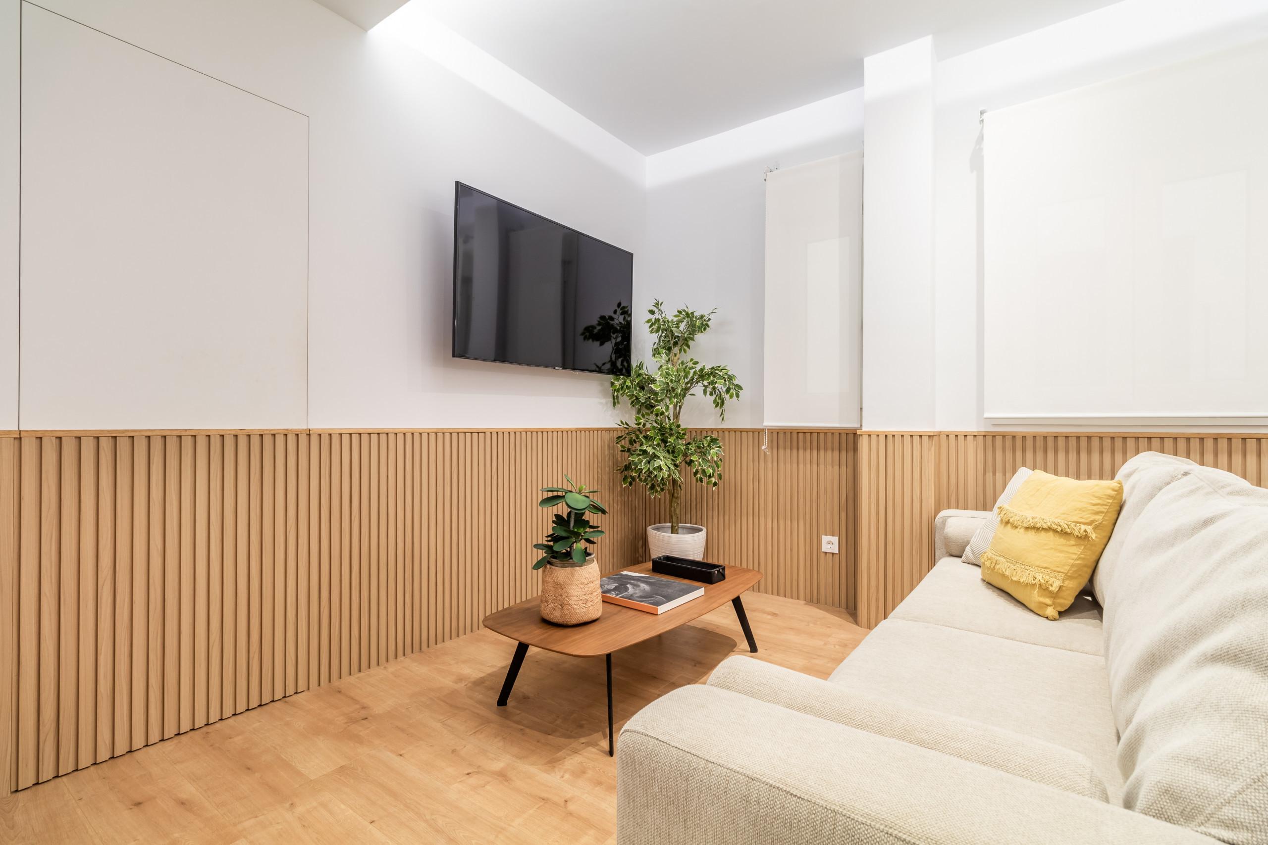 Apartamento en Madrid - Apartmento de 2 habitaciones en Barrio de Salamanca. Totalmente equipado, con A/C e internet!
