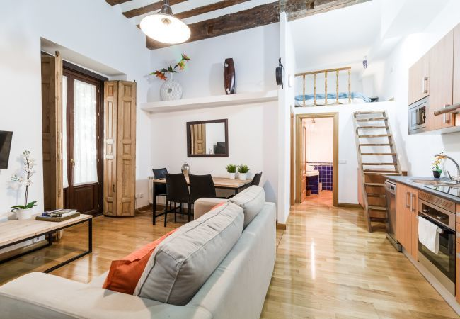 Appartement à Madrid - Amazing ground floor for 6 with AC and internet located in Madrid city center!
